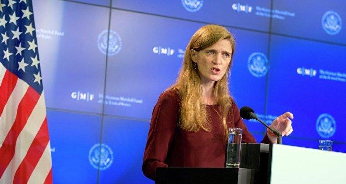 ABD'nin Birleşmiş Milletler Daimi Temsilcisi Samantha Power