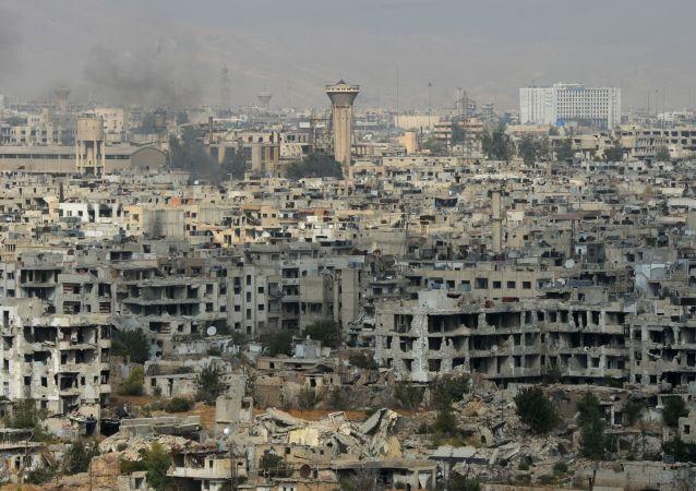 Şam'ın Cobar semtindeki durum