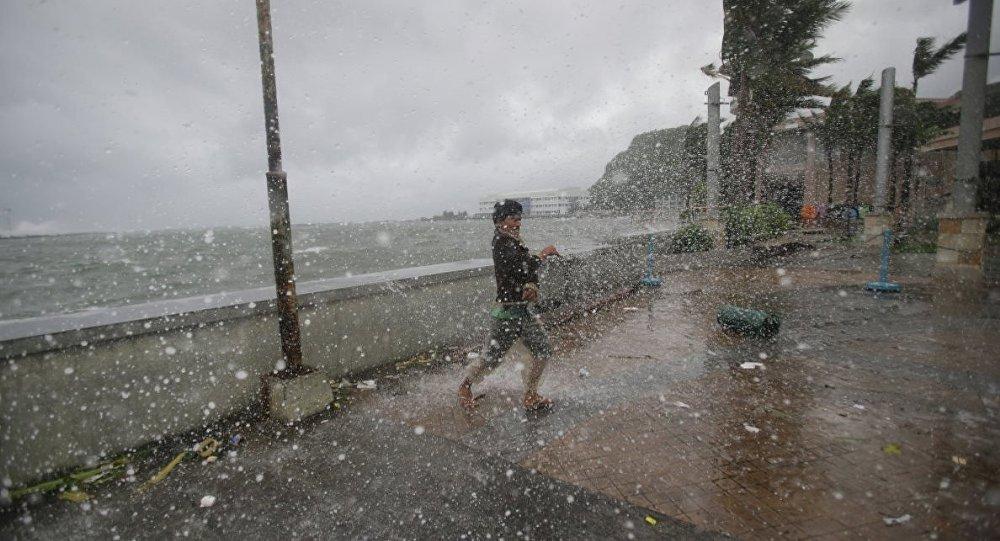 Filipinler tayfun