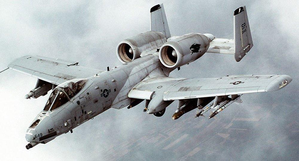A-10 Thunderbolt II tipi uçak