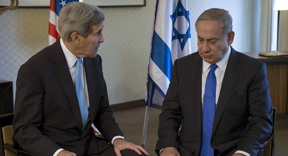ABD Dışişleri Bakanı John Kerry - İsrail Başbakanı Benyamin Netanyahu