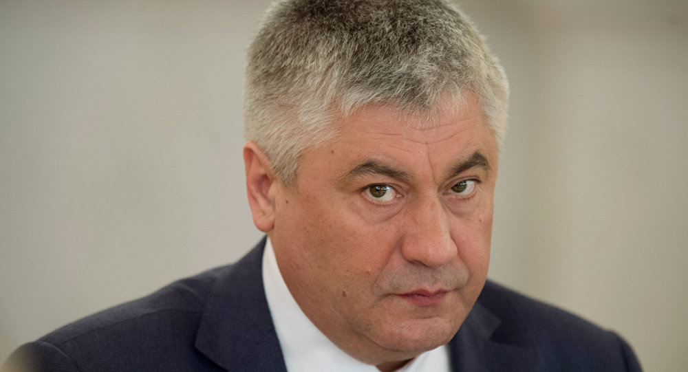 Rusya İçişleri Bakanı Vladimir Kolokoltsev