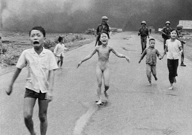 Vietnam Savaşı'nın sembolü haline gelen Kim Phuc