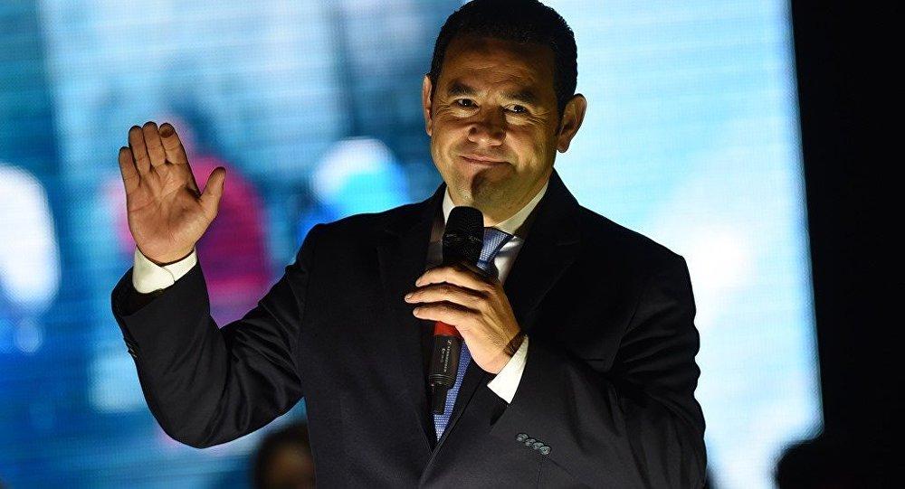 Guatemala Devlet Başkanı Jimmy Morales