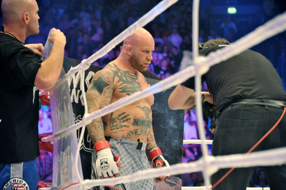 Amerikalı  dövüşçü Jeff Monson