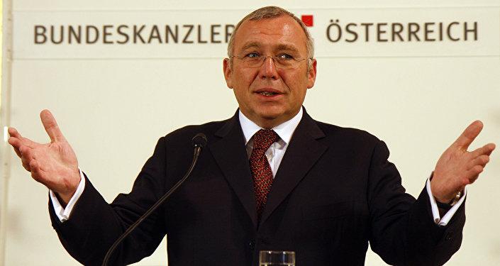 Avusturya'nın eski Başbakanı Alfred Gusenbauer