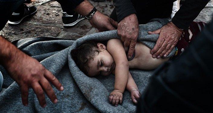 Yunanistan sığınmacı çocuklar