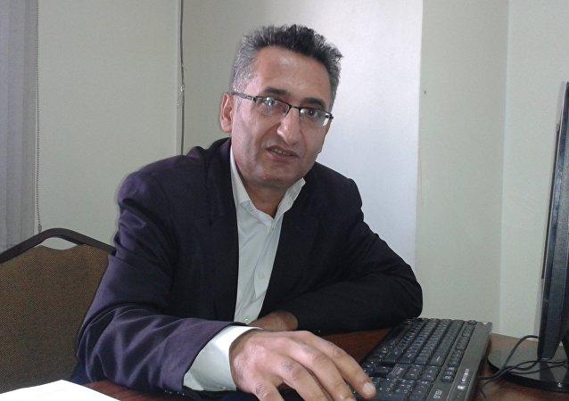 Suriye Devlet Televizyonu Türkçe Bölüm Müdürü Ahmet El İbrahim
