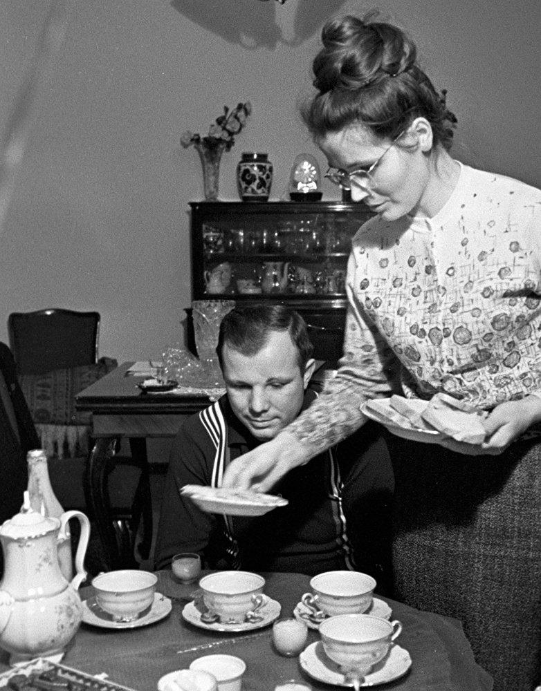 Sovyetler Birliği kozmonotu Yuri Gagarin