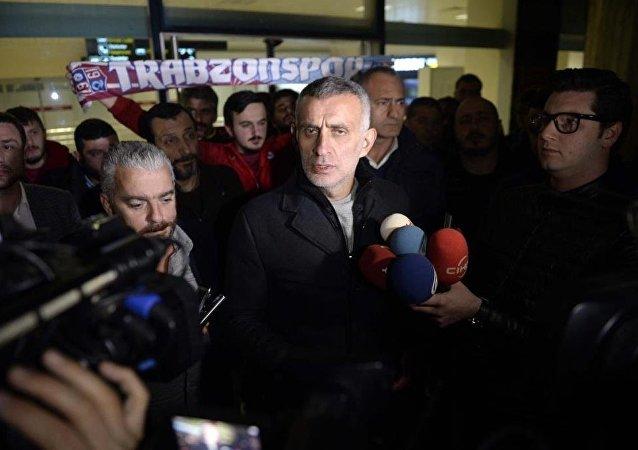 Trabzonspor Kulübü Başkanı İbrahim Hacıosmanoğlu
