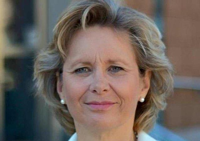AGİT Seçim İzleme Grubu Sözcüsü İsveç Liberal Parti milletvekili Margareta Cederfelt