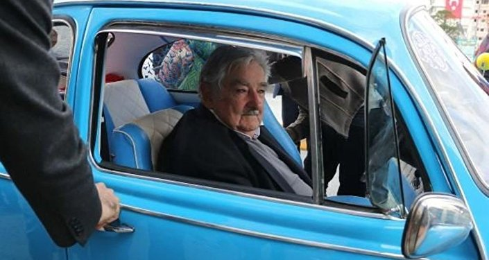 İsranbul'u ziyaret eden eski Uruguay Devlet Başkanı Jose Mujica