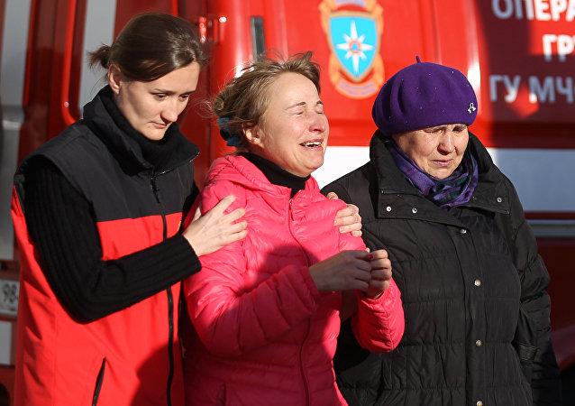 Rusya Acil Durumlar Bakanlığı, St. Petersburg'da yolcuların yakınlarına destek vermeleri için psikologlar görevlendirdi. Pulkovo Havalimanı'ndaki kazazedelerin yakınlarının Crown Plaza oteline götürüldüğü ve psikolojik destek verildiği belirtildi.