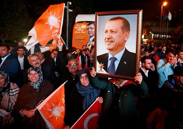 AK Parti'de kutlama
