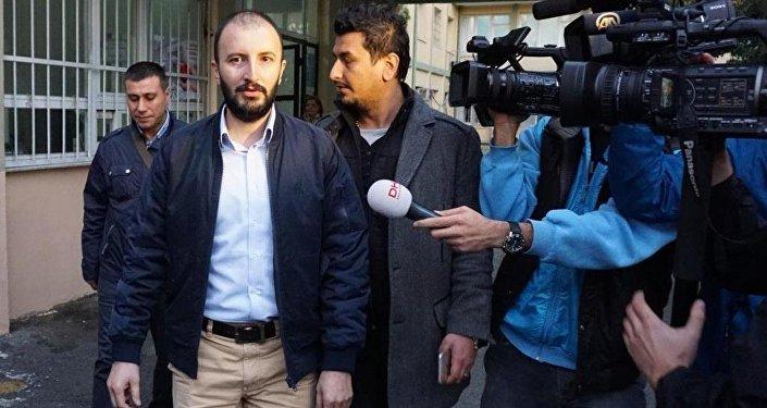 Nokta Dergisi'nin gözaltına alınan yöneticisi Cevheri Güven.