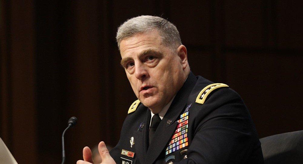 ABD Kara Kuvvetleri Komutanı General Mark Milley
