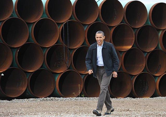 ABD Başkanı Barack Obama - Keystone XL petrol boru hattı