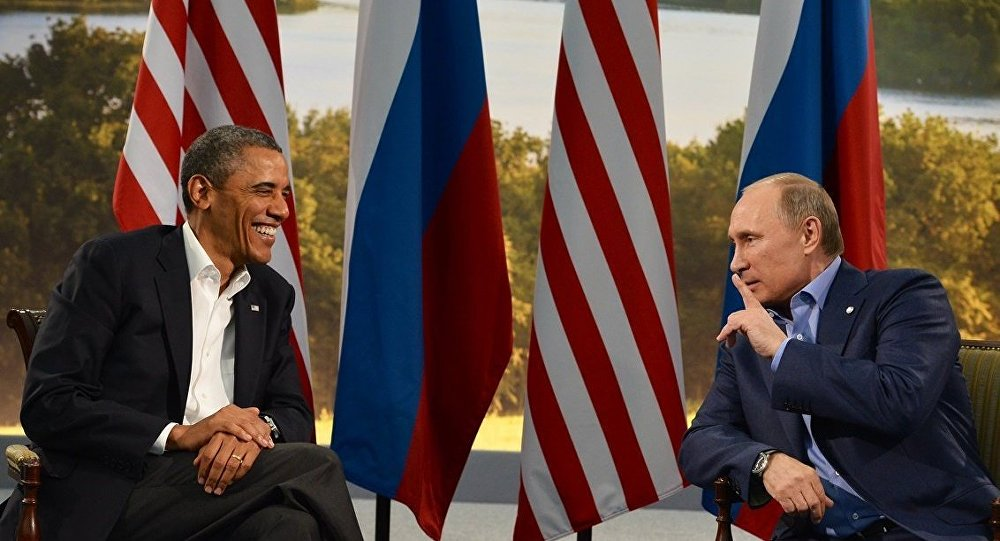 ABD Başkanı Barack Obama - Rusya Devlet Başkanı Vladimir Putin