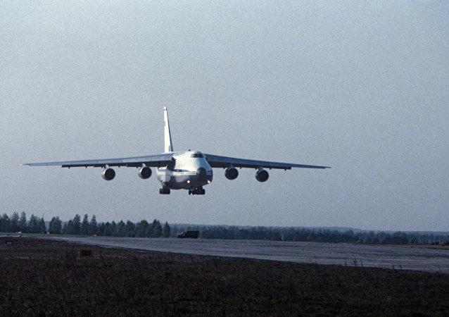 AN-124 kargo uçağı