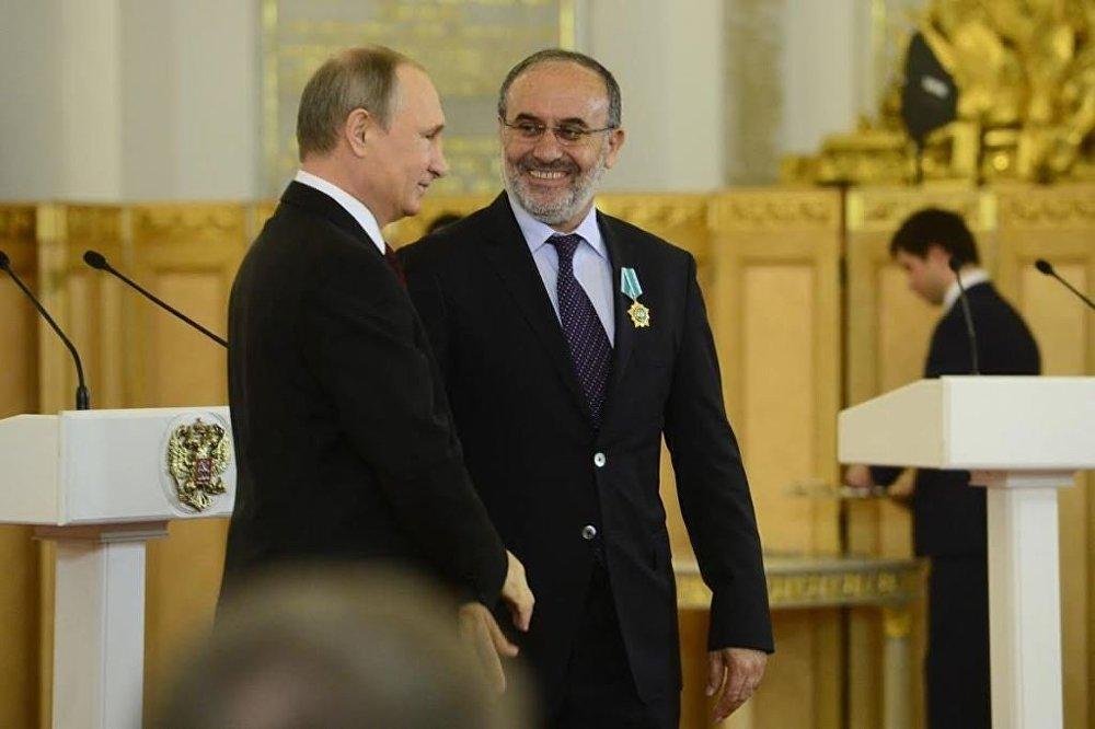 Putin'den devlet nişanı