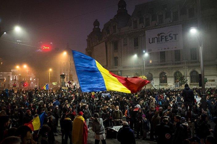 Romanya'daki gösteriler