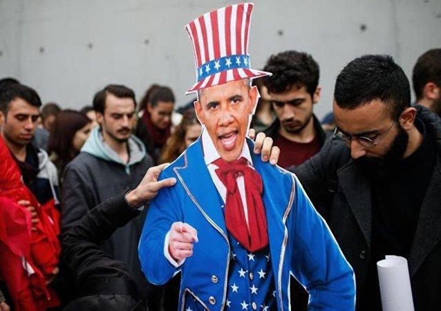 Obama protesto