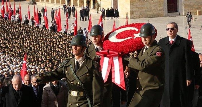 Atatürk, ölümünün 77. yılında Anıtkabir'de düzenlenen devlet töreniyle anıldı.