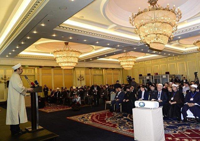 Türkiye Diyanet İşleri Başkanı Mehmet Görmez  Moskova'da