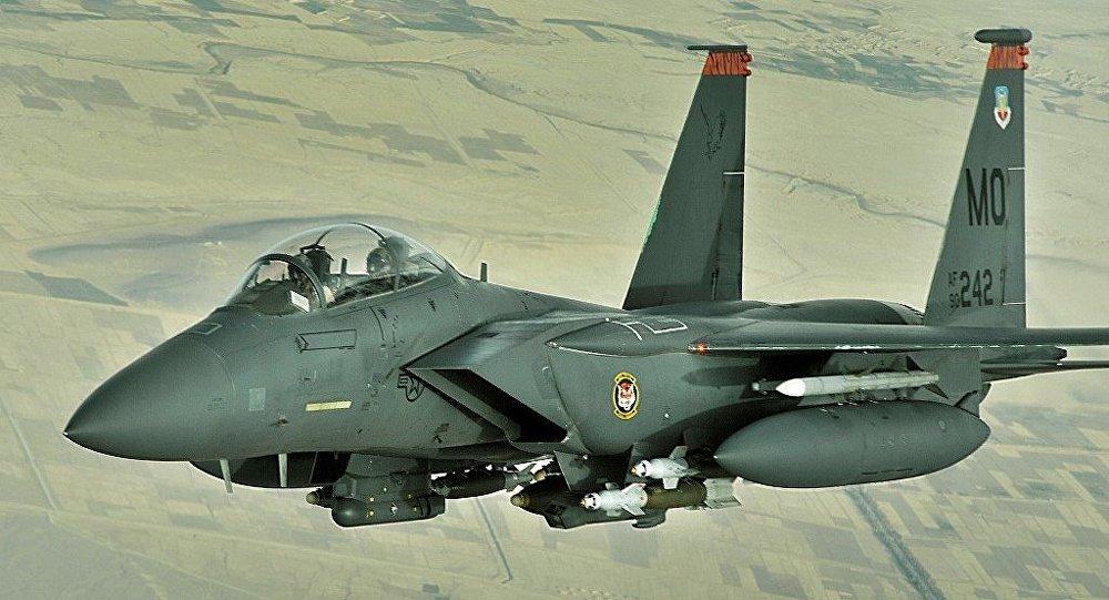 F-15E tipi savaş uçağı