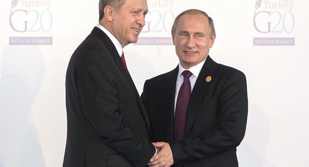 Rusya lideri Vladimir Putin- Türkiye Cumhurbaşkanı Recep Tayyip Erdoğan