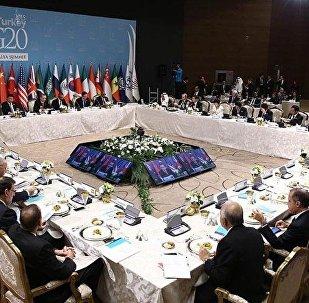 G20 çalışma yemeği