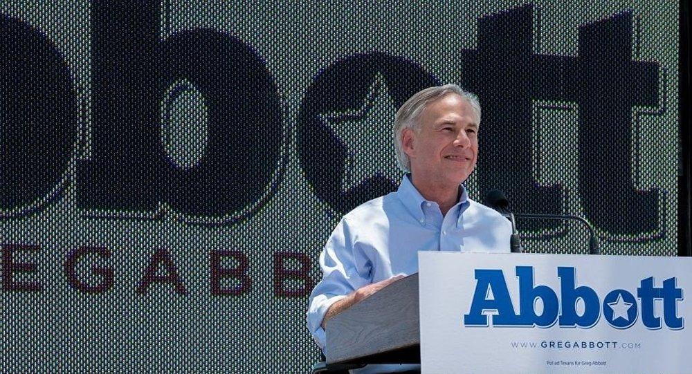 ABD Teksas Eyaleti Valisi Greg Abbott