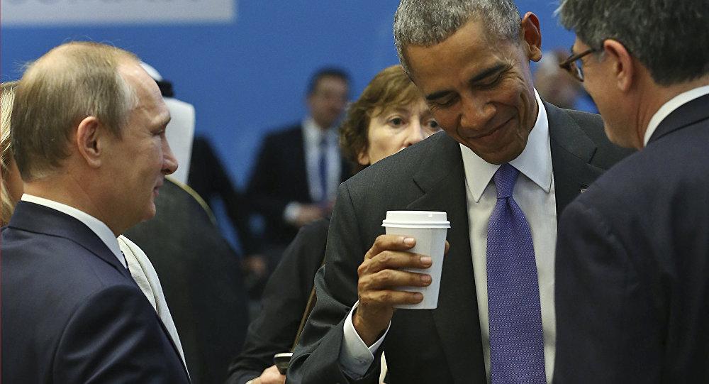 G20 Zirvesi / ABD Başkanı Barack Obama - Rusya Devlet Başkanı Vladimir Putin