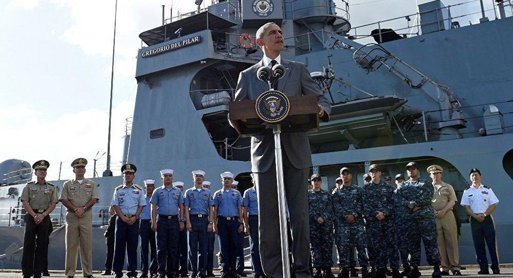 Filipinler - ABD Başkanı Barack Obama