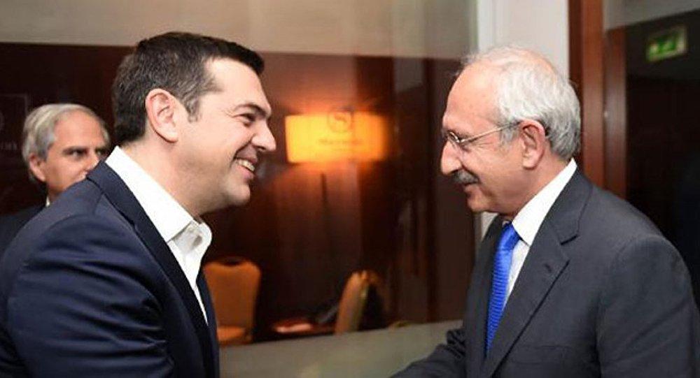 Kılıçdaroğlu, Çipras'la görüştü