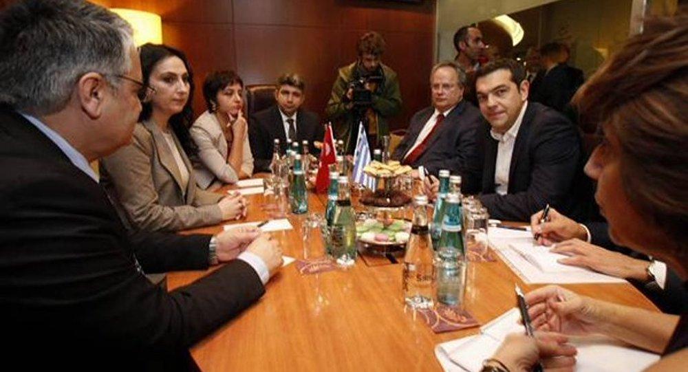 Çipras HDP heyetiyle
