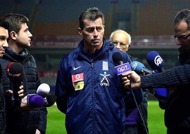 Yunanistan Takımı teknik direktörü Michael Skibbe