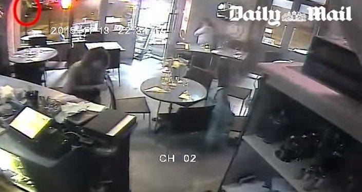 Paris saldırısının dehşet verici görüntüleri
