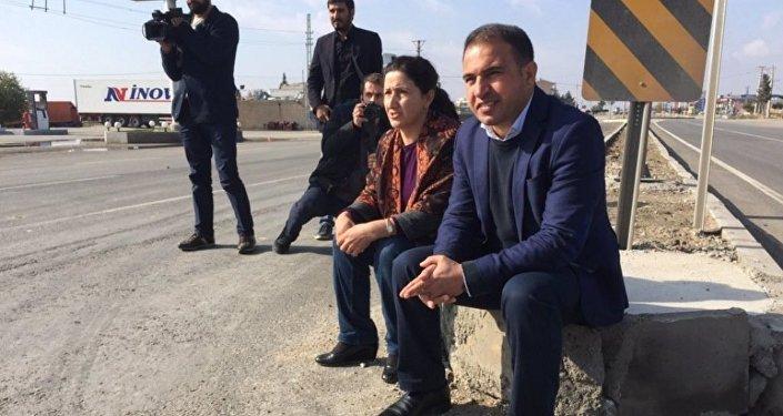 HDP Milletvekilleri Ali Atalan ve Gülser Yıldırım