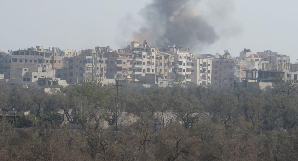 Suriye ordusunun Şam'ın Duma ilçesindeki operasyonu