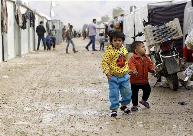 Lübnan'daki Suriyeli sığınmacıların kış çilesi