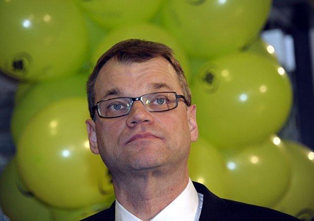 Finlandiya Başbakanı Juha Sipilä