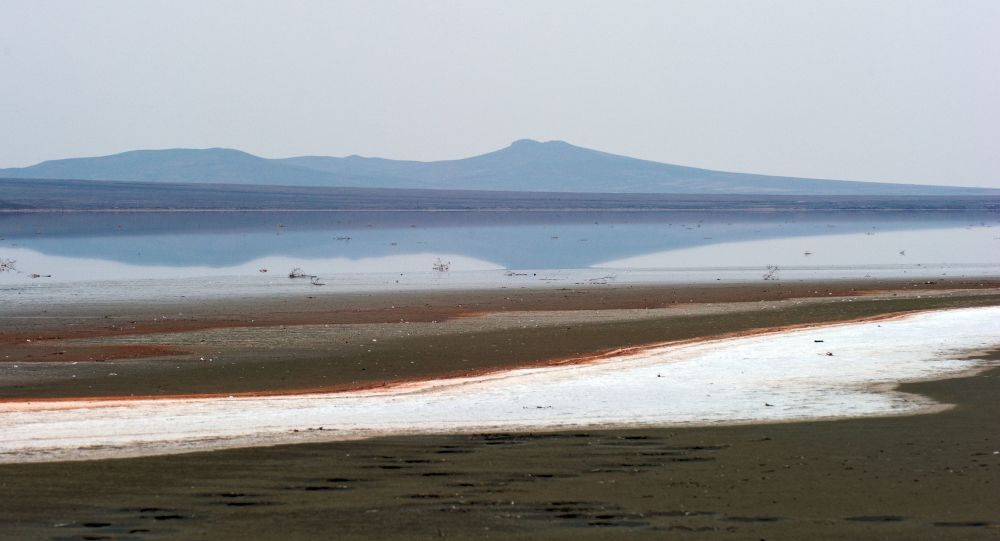 Kırım'daki Koyaş Gölü