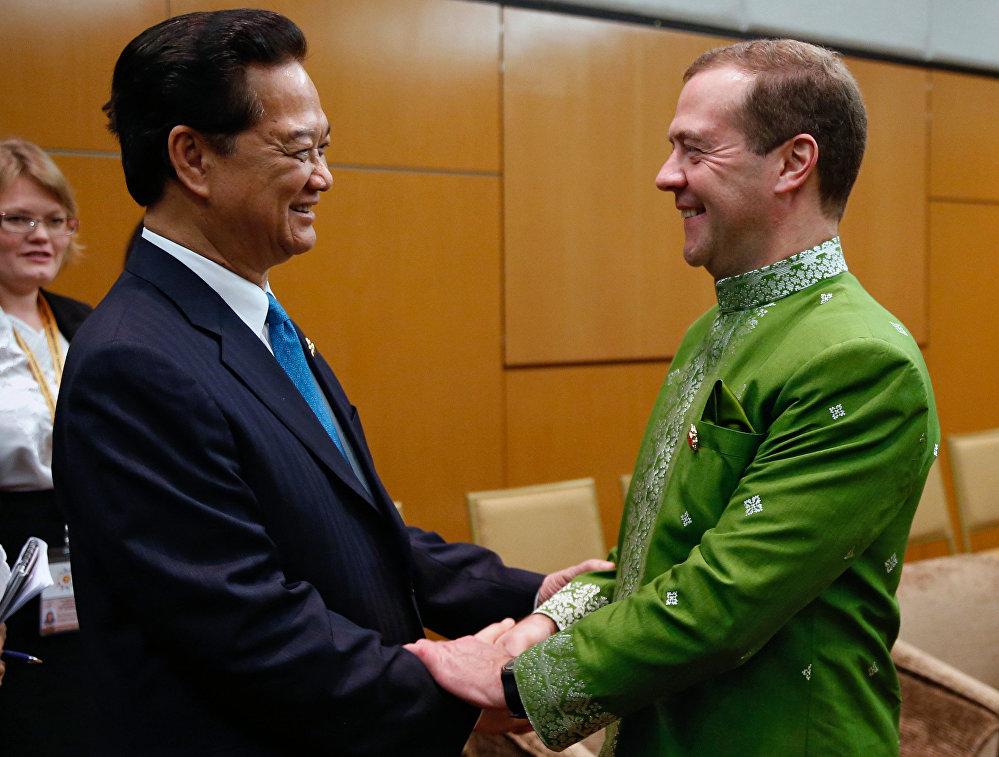 Medvedev Malezya'da