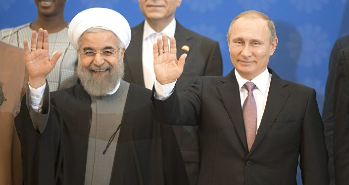 Rusya Devlet Başkanı Vladimir Putin -  İran Cumhurbaşkanı Hasan Ruhani