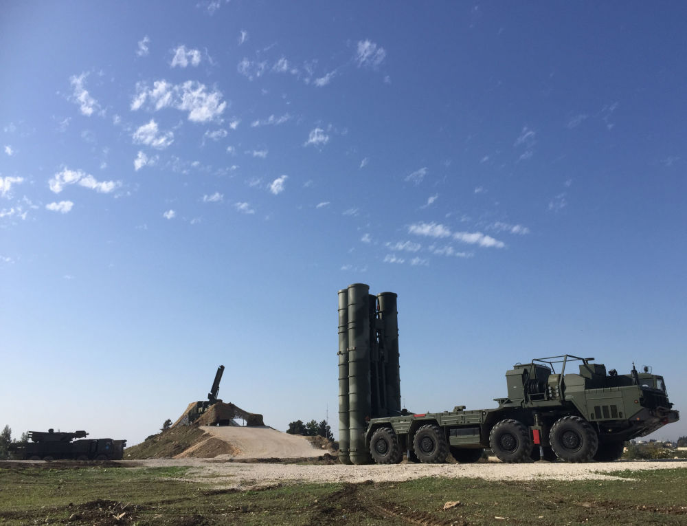 S-400 hava savunma füze sistemi