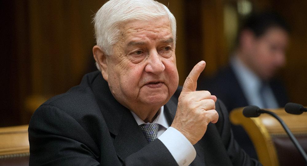 Suriye Dışişleri Bakanı Velid Muallim