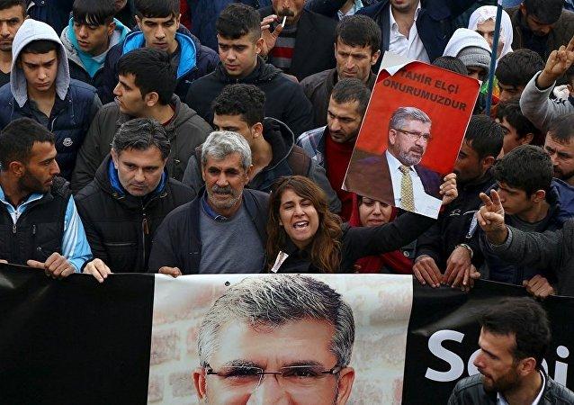 Tahir Elçi cenaze