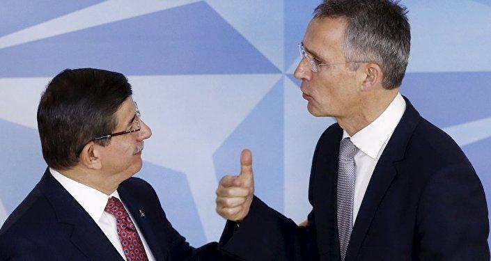 Başbakan Ahmet Davutoğlu - NATO Genel Sekreteri Jens Stoltenberg