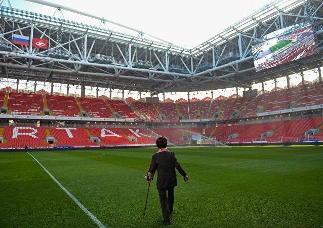 Spartak Moskova taraftarı Otto Fischer